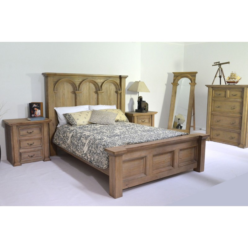 X - Wingala 4pc King Bedroom with Tallboy